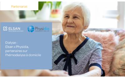 ELSAN et PHYSIDIA, spécialiste de l'hémodialyse à domicile signent un partenariat