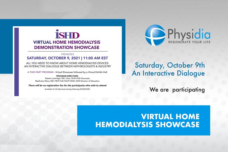 Physidia ISHD 2021 Hemodialysis virtual Showcase