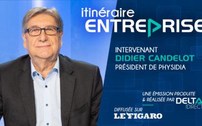 Didier Candelot, interview Itinéraire Entreprise